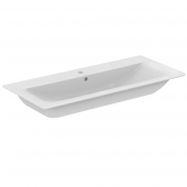 Ideal Standard Connect Air - Möbelwaschtisch 1 Hahnloch mit Überlauf 1040 x 460 x 165 mm weiß