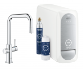 Grohe Blue Home - Starter Kit Mousseur Bluetooth/WIFI U-Auslauf chrom 1