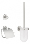 Grohe Essentials - WC-Set 3 in 1 supersteel