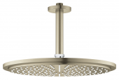 Grohe Rainshower Cosmopolitan - Kopfbrauseset 310 Deckenauslass 142 mm nickel gebürstet