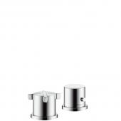 Hansgrohe Axor Citterio E - 2-Loch Wannenrandarmatur mit Thermostat chrom