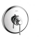 Hansgrohe Axor Montreux - Thermostat Unterputz High Flow Fertigset Hebelgriff chrom