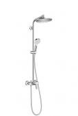 Hansgrohe Crometta - Showerpipe S 240 Einhebelmischer chrom