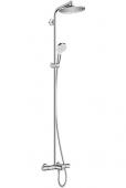 Hansgrohe Crometta - Showerpipe S 240 für Wanne chrom mit Thermostat