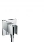 Hansgrohe Fixfit - Schlauchanschluss Porter Square Axor DN15 mit Rückflussverhinderer chrom