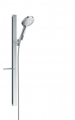 Hansgrohe Raindance Select S 120 - Brausenset EcoSmart Unica'E 900 mm chrom