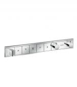 Hansgrohe RainSelect - Thermostat Unterputz Fertigset 5 Verbraucher chrom