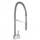 Hansgrohe Axor Starck - Semi-Pro Einhebel-Küchenmischer DN15