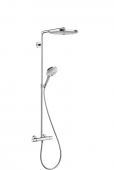 Hansgrohe Raindance Select S - 2jet Showerpipe 300 mm weiß / chrom