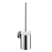 Hansgrohe Logis - WC-Bürste mit Halter aus Glas