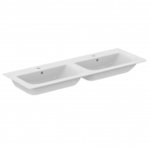 Ideal Standard Connect Air  - Double vasque 1340 x 460 x 165 mm blanc