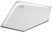 Ideal Standard Ultra Flat - Pentagonal shower tray 900 mm