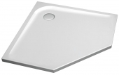 Ideal Standard Ultra Flat - Pentagonal shower tray 1000 mm