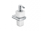 Keuco Elegance - Replacement glass for foam soap dispenser; Frosted opal glass,