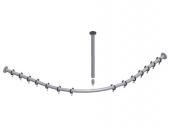 Keuco Plan - Set of shower curtain rails 14938