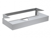 Keuco Edition 300 - Wastafelonderbouw with 1 drawer 1250x155x525mm anthracite/anthracite