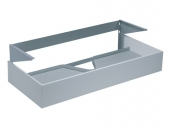 Keuco Edition 300 - Wastafelonderbouw with 1 drawer 950x155x525mm anthracite/anthracite