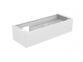 Keuco Edition 11 - Vanity unit 31265, 1 drawer with illumination, white / white