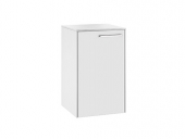Keuco Royal 60 - Base unit with 1 door & hinges left 400x650x400mm cashmere matt/cashmere matt