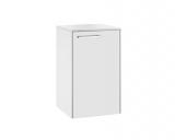 Keuco Royal 60 - Base unit with 1 door & hinges right 400x650x400mm white matt/white matt