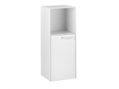 Keuco Royal 60 - Central Cupboard with 1 door & 1 open compartment & hinges left 400x1030x400mm cashmere matt/cashmere matt