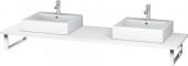 Duravit L-Cube - Konsole 1640 x 550 mm weiß matt