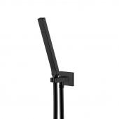 Steinberg Serie 135 - Handbrausegarnitur mit integriertem Brauseanschlussbogen matt black