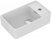 Ideal Standard Strada II - Handwaschbecken mit Überlauf Version rechts 450 x 270 x 170 mm weiß