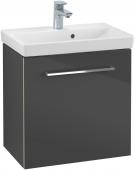 Villeroy & Boch Avento - Waschtischunterschrank 530 x 514 x 352 mm Anschlag links crystal grey