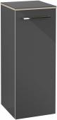 Villeroy & Boch Avento - Seitenschrank 350 x 892 x 370 mm Anschlag links crystal grey