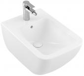 Villeroy & Boch Venticello - Bidet 375 x 560 mm mit Überlauf stone white mit CeramicPlus
