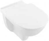 Villeroy & Boch O.novo - Tiefspül-WC spülrandlos Vita 360 x 595 mm DirectFlush wandh. weiß alpin C+