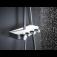 GROHE Euphoria SmartControl - Duschsystem Rainshower 310 Smart Active Cube mit Thermostatarmatur chrom / mondweiß