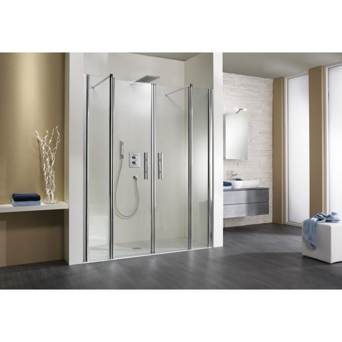 HSK - Room niche 4-piece, 41 chrome look custom-made, 56 Carré