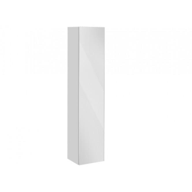 Keuco Royal Reflex - Tall cabinet 34030, hinged right, 1 door, titanium / mirrors