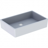 Geberit Publica - Spülstein ohne Überlauf 600 x 130 x 400 mm weiß
