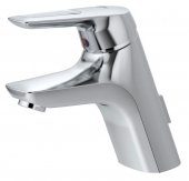 Ideal Standard CeraMix Blue - Et-grebs håndvaskarmatur S-Size med bundventil chrom