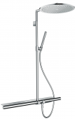 Hansgrohe Axor - Showerpipe 800 brushed nickel