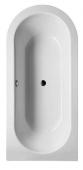 BETTE BetteStarlet II - Oval bathtub 1850 x 850mm hvid