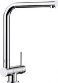 Blanco Laressa-F - Küchenarmatur metallische Oberfläche Hochdruck Hebel rechts chrom