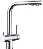 Blanco Fontas - Küchenarmatur II Filter metallische Oberfläche Hochdruck chrom
