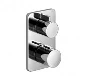 Dornbracht Cult - Unterputz-Thermostat mit 2-Wege-Mengenregulierung schwarz matt