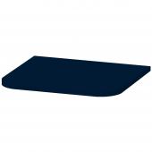Duravit Happy D.2 Plus - Abdeckplatte 16x403x364mm nachtblau seidenmatt