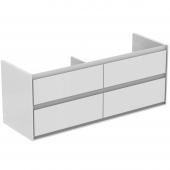 Ideal Standard Connect Air - Waschtisch-Unterschrank 1300 x 440 x 517 mm weiß glänzend1