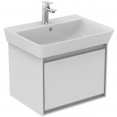 Ideal Standard Connect Air - Waschtisch-Unterschrank 535 x 412 x 400 mm weiß glänzend / matt