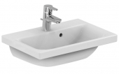 Ideal Standard Connect Space - Washbasin for Furniture 550x380mm with 1 tap hole with overflow hvid with IdealPlus