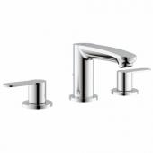 GROHE Eurostyle Cosmopolitan - 3-huls håndvaskbatteri S-Size uden bundventil chrom