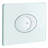 GROHE Skate Air - Flush Plate for WC with 2 flushes & start-stop function white / white