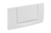 Geberit 200F - Flush Plate for WC white / white