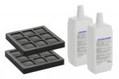 Geberit AquaClean - 2 Aktivkohlefilter und 2 Düsenreiniger für WC-Komplettanlagen